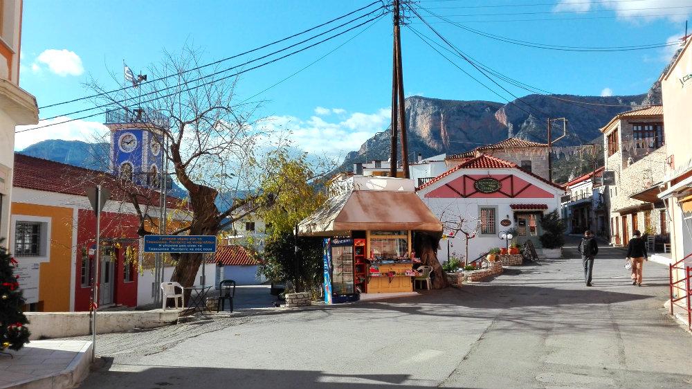 ulice Leonidio